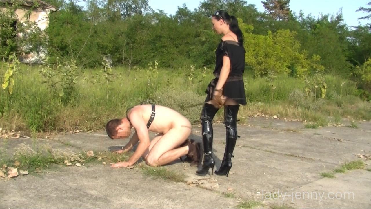 Lady jenny femdom training